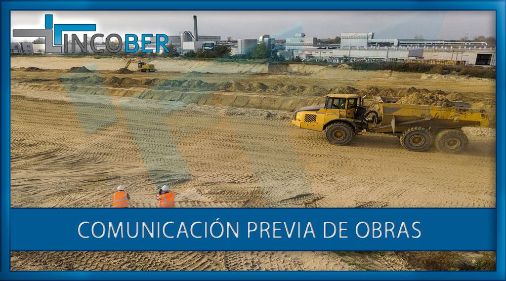 Comunicación Previa De Obras