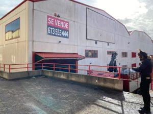 Nave Almacenamiento Piscinas Prefabricadas, Mejorada Del Campo, Madrid