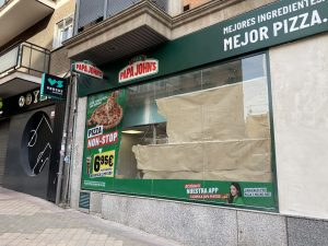 PIZZERIA PAPA JOHN´S MADRID
