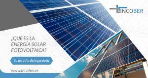 que es la energia solar fotovoltaica